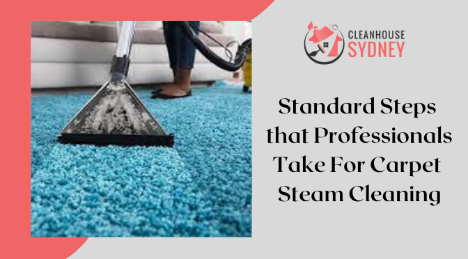 Standard Steps that Professionals Take For Carpet Steam Cleaning